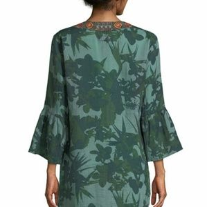 Johnny Was Dresses - Johnny Was Flare-Sleeve Tunic Dress